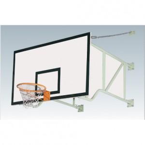 墙面折叠篮球架