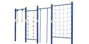 攀网、爬绳、爬杆、吊环组合