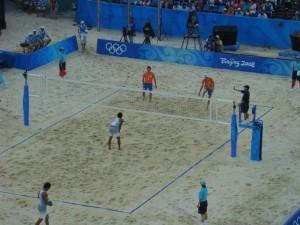沙滩排球场地