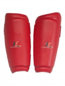 跆拳道护腿(红1)